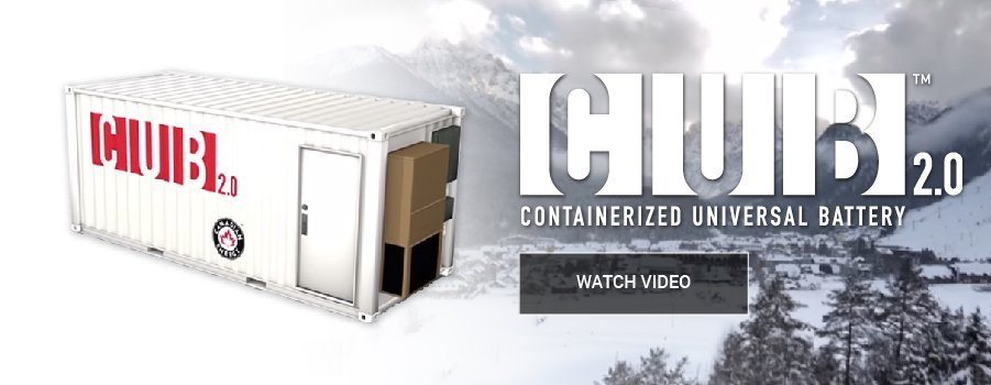 Containerized Universal Battery (CUB)