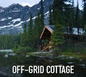 Off-Grid Cottage