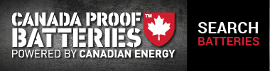 Click to view our Canada Proof Battery selection